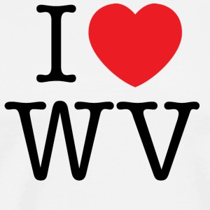 I Love West Virginia T-shirt - Men's Premium T-Shirt