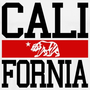 California Bear Flag - Men's Premium T-Shirt