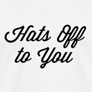 Hats of To You - Men's Premium T-Shirt