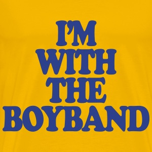 I'm With The Boy Band T-Shirts - Men's Premium T-Shirt