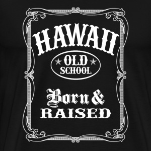 Hawaii Old School  - Men's Premium T-Shirt