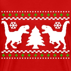 Ugly T-REX Christmas Sweater