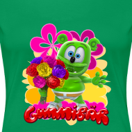 Design ~ Gummibär Flowers Women's T-