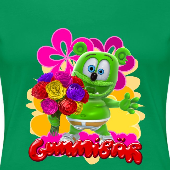 Gummibär (The Gummy Bear) Flowers Women's T-