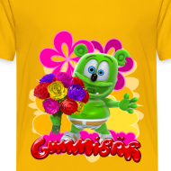 Design ~ Gummibär Flowers Kid's T-