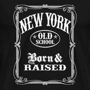Old School New York - Men's Premium T-Shirt