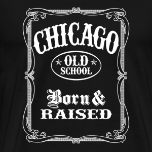 Old School Chicago - Men's Premium T-Shirt