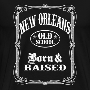 Old School New Orleans - Men's Premium T-Shirt
