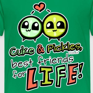 Cuke & Pickles, Best Friends for Life! Kids' Shirts - Kids' Premium T-Shirt