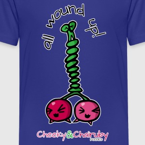 Cheeky & Chairuby, All Wound Up! Kids' Shirts - Kids' Premium T-Shirt
