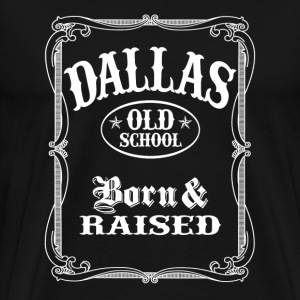 Old School Dallas - Men's Premium T-Shirt