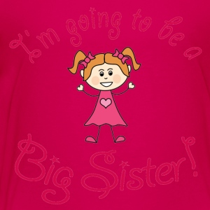 I'm going to be a Big Sister! - Kids' Premium T-Shirt