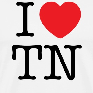 I Love Tennessee T-shirt - Men's Premium T-Shirt