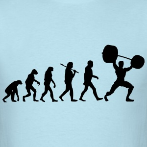 Evolution  - Weightlifter T-Shirts - Men's T-Shirt