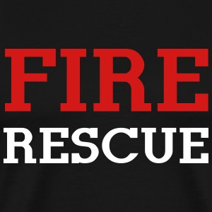 Fire Rescue T-Shirts - Men's Premium T-Shirt