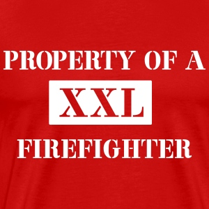 Property of a Firefighter T-Shirts - Men's Premium T-Shirt