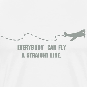 flying plain (1c) T-Shirts - Men's Premium T-Shirt