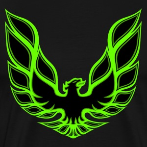 Green Firebird - Men's Premium T-Shirt