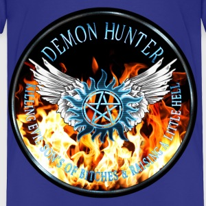 Demon Hunter  protection Symbal Flames Ring Patch  Baby & Toddler Shirts - Toddler Premium T-Shirt