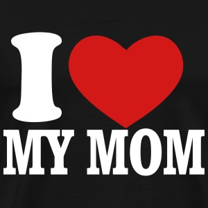 love mom - Men's Premium T-Shirt