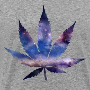 Space Weed - Men's Premium T-Shirt