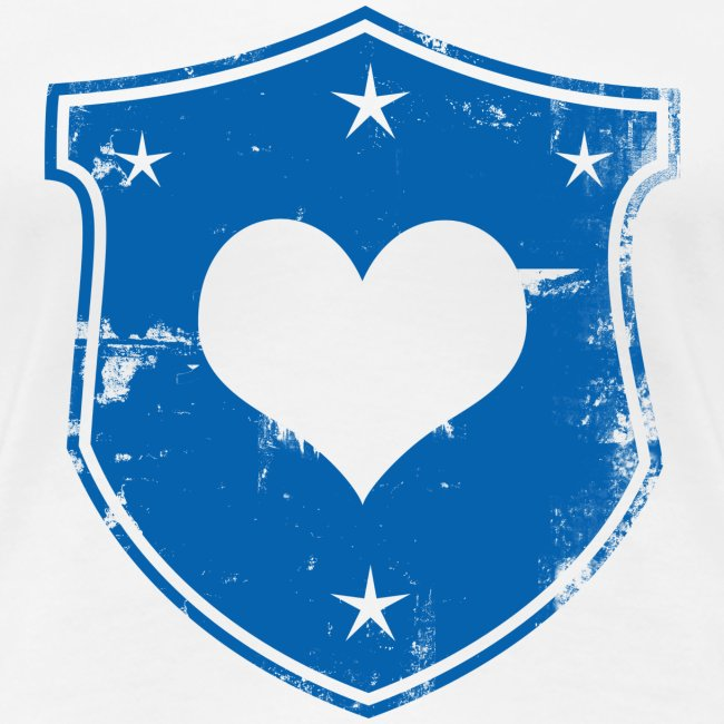 Heart Shield Fitted Tee