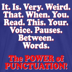 Punctuation T-Shirts   Spreadshirt