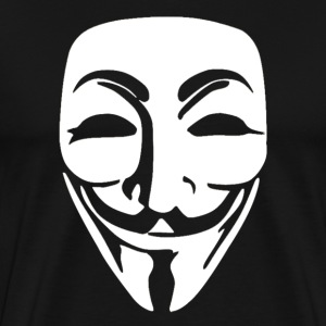 Anonymous mask - Men's Premium T-Shirt
