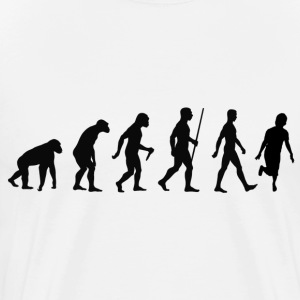 Evolution of shuffle - Men's Premium T-Shirt