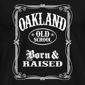 Old School Oakland - Men's Premium T-Shirt