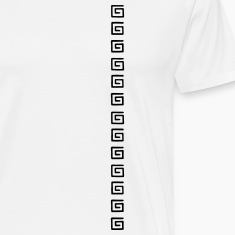 Square spiral pattern T-Shirts