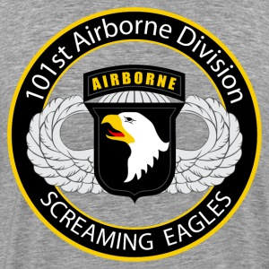 101st Airborne wings - Men's Premium T-Shirt