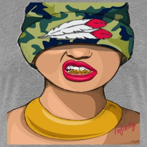 WOMANS SEDUCTIVE GRILLZ - Women's Premium T-Shirt