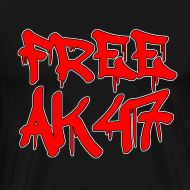 Design ~ Free AK47 3XL/4XL T-Shirt