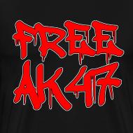 Design ~ Free AK47 3XL/4XL T-Shirt
