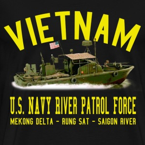 Vietnam Mark II PBR - Patrol Boat, River - Men's Premium T-Shirt