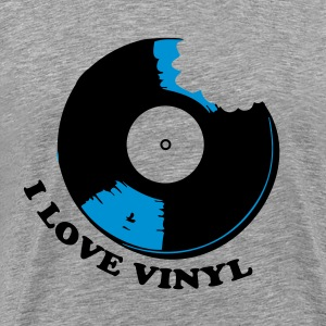 I Love Vinyl T-Shirts - Men's Premium T-Shirt