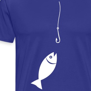 Fish on the fishing - Men's Premium T-Shirt