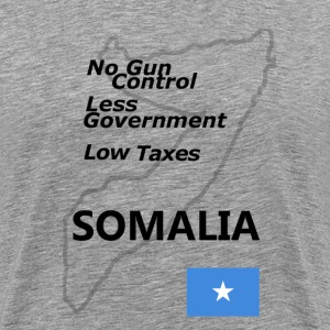 Somalia: Your New Homeland T-Shirts - Men's Premium T-Shirt