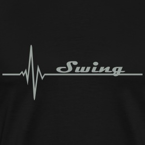 Swing - Pulse T-Shirts - Men's Premium T-Shirt