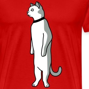 Standing cat T-Shirts - Men's Premium T-Shirt