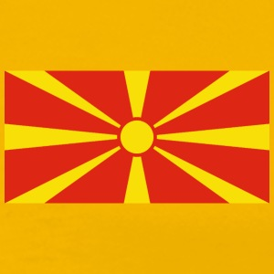 Macedonia Flag T-Shirt - Men's Premium T-Shirt