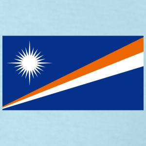 Marshall Islands Flag T-Shirt - Men's T-Shirt