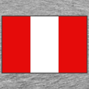 Peru Flag T-Shirt - Men's Premium T-Shirt