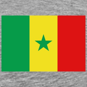 Senegal Flag T-Shirt - Men's Premium T-Shirt