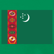 Design ~ Turkmenistan Flag T-Shirt