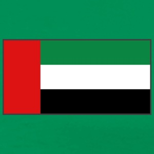 United Arab Emirates Flag T-Shirt - Men's Premium T-Shirt