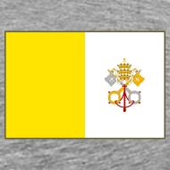 Design ~ Vatican City Flag T-Shirt