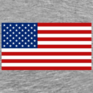 United States Flag T-Shirt - Men's Premium T-Shirt