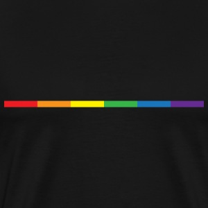 Gay Rainbow Symbol T-Shirts - Men's Premium T-Shirt